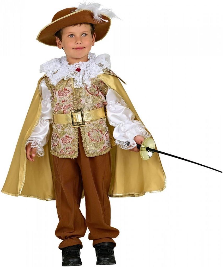 Disfraz de Mosquetero Luis Disfraz para Niños: Amazon.es: Juguetes ...