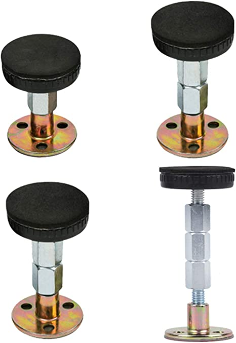 Bed Frame djustable Threaded Headboard Stoppers Bedside Anti-Shake Fixer L/&6