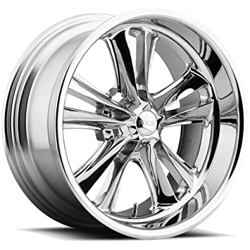 Amazon.com: Foose nudillos 17/borde de rueda CROMO 5 x 4,75 ...