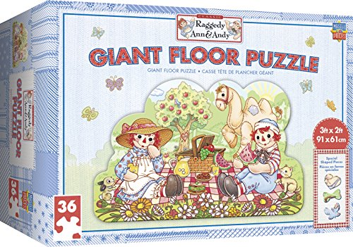 (MasterPieces Raggedy Ann & Andy Giant Floor Puzzle, 36-Piece)