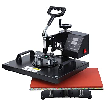 Iglobalbuy Digital Multi-Functional Transfer Sublimation Heat Press Machine