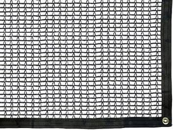 Green Tek 30 Black Knitted Shade Cloth, 20 Wide x 20 Long