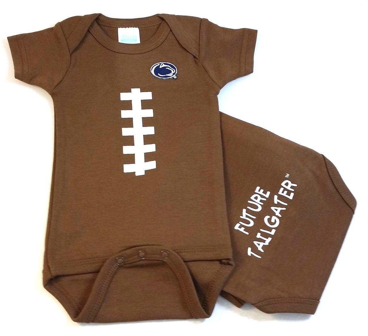 Amazon.com: Penn State Nittany Lions bebé Fútbol Onesie ...