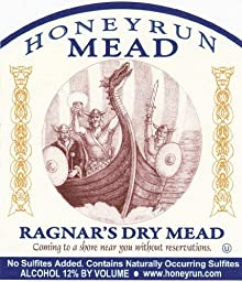 NV HoneyRun Winery Ragnar\'s Dry Mead 750 mL Wine