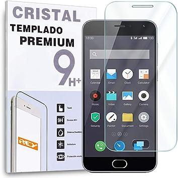 REY Protector de Pantalla para Samsung Galaxy S7 Cristal Vidrio Templado Premium: Amazon.es: Electrónica