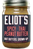 Eliot's Nut Butters Spicy Thai Peanut Butter, Non-GMO, Gluten Free, Vegan, Keto and Paleo Friendly, 12 Ounce…