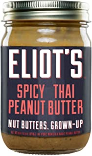 product image for Eliot's Adult Nut Butters , Spicy Thai Peanut Butter, 12 Ounce