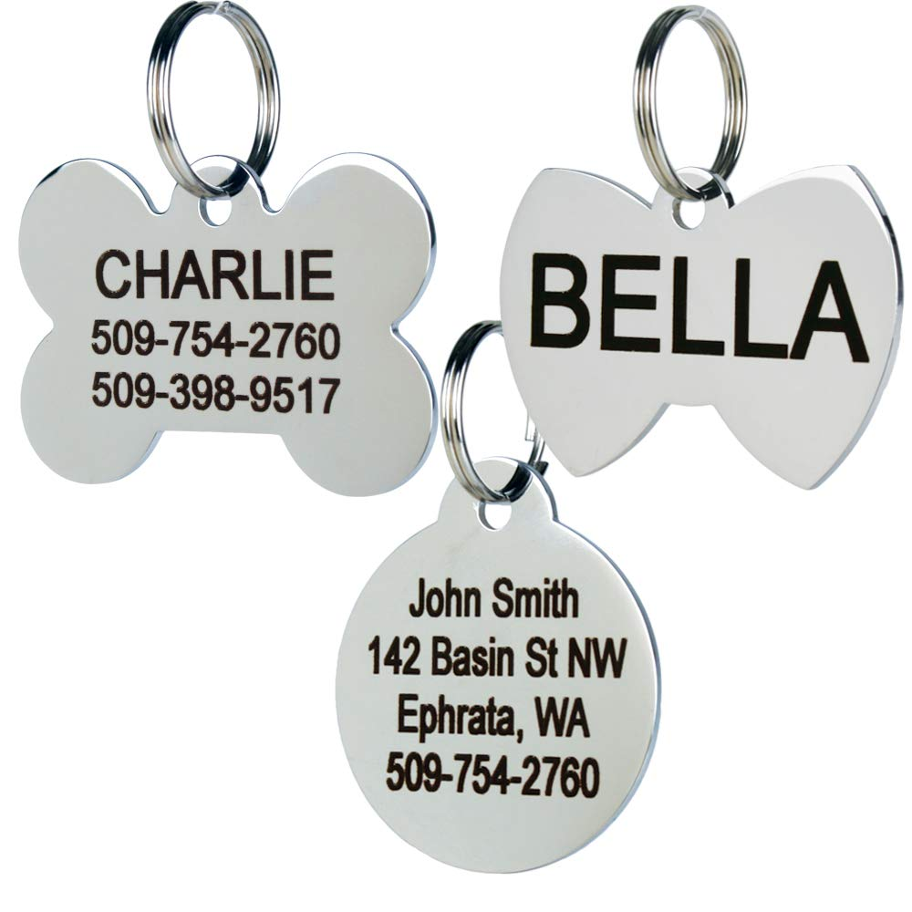 GoTags Stainless Steel Pet ID Tag