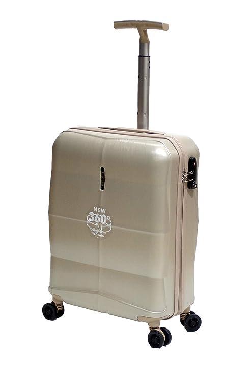 Nueva Ryanair y Easyjet cabina aprobado Hard Shell 4 ruedas giratorias Cabin maleta en 5 colores
