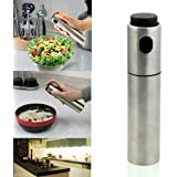 Stainless Steel Olive Mister Oil Spray Pump Fine Bottle Oil Sprayer Pot Cooking Roast Bake Oil Bottle Tools Oil Dispenser