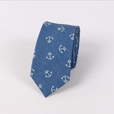 TieSilbA Corbatas para hombre Corbata de algodón, corbata ...