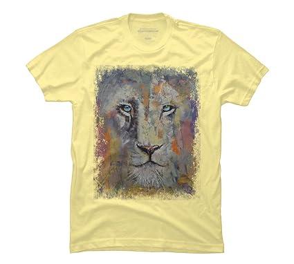 Amazon com: WHITE LION Men's Graphic T Shirt - Design By Humans