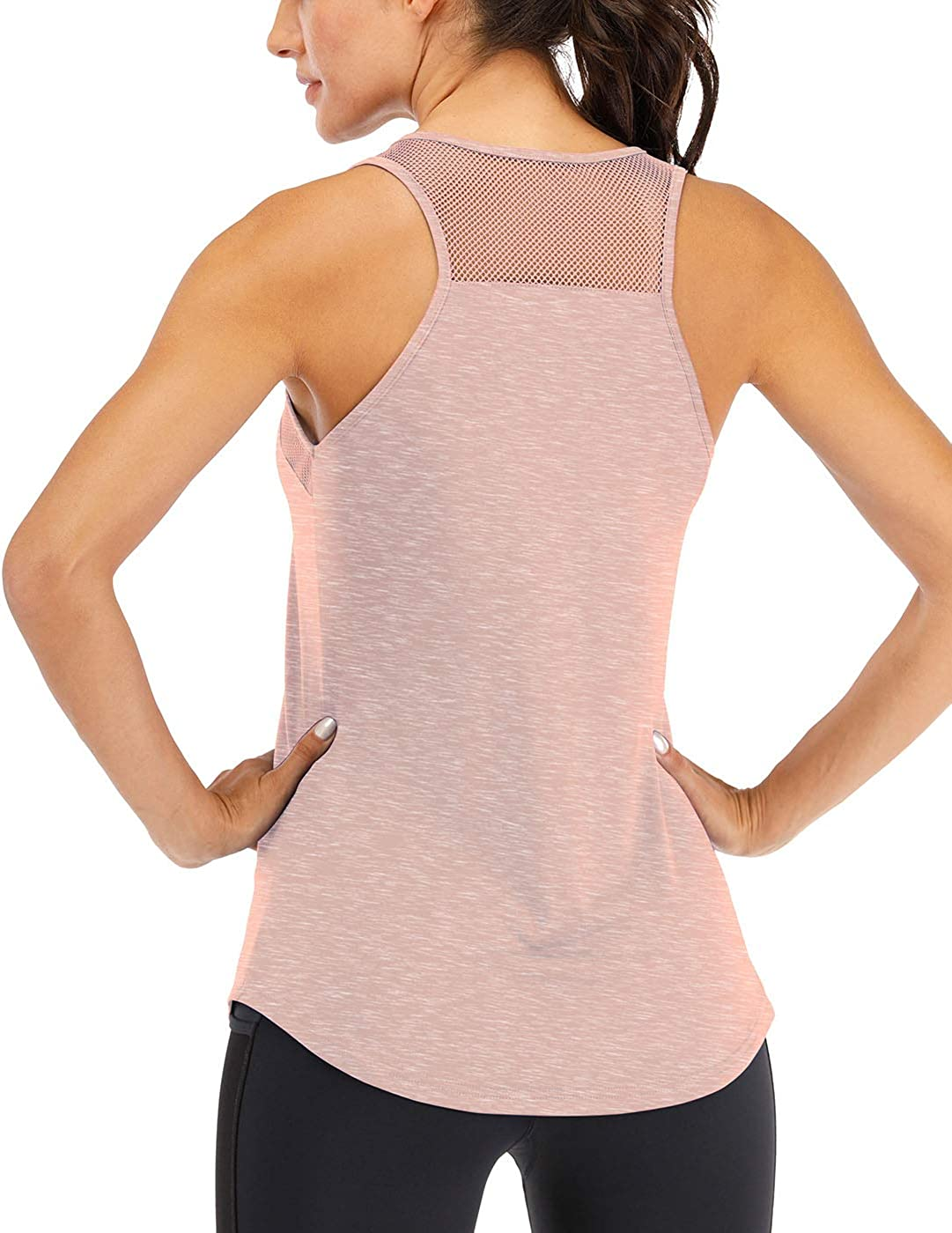 Exercise Tank Goddess Vibes Muscle Tank Gym Shirt Flowy Scoop Neck Workout Tank For Women