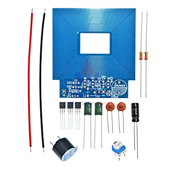 Simple Metal Detector Metal Locator DC 3V-5V Electronic Metal Sensor Module Induction Suite DIY Kit Electronic PCB Board Module: Amazon.com: Industrial & ...
