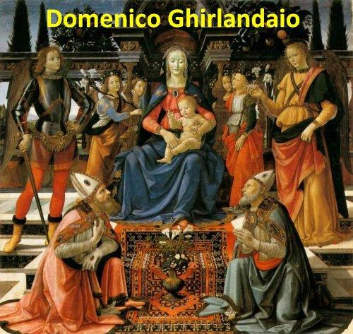 106 Color Paintings of Domenico Ghirlandaio - Italian Renaissance Painter (1449 - January 11, 1494) por Jacek Michalak,Domenico Ghirlandaio