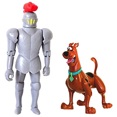 Scooby-Doo! 50th Anniversary Twin Figure Pack Exclusive - Frightface Scooby and The Black Knight: Toys & Games [5Bkhe1005964]