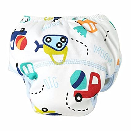 Koly - Bebés Colchón cambiador tela de algodón del pañales, Pantalones de entrenamiento, coche