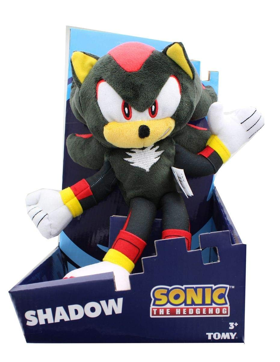 TOMY Sonic The Hedgehog Collector Series 12-Inch Modern Plush - Shadow by TOMY