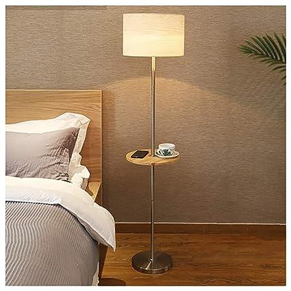 PANGU-ZC Lámpara de pie, Sala de Estar LED Lámpara de pie de ...