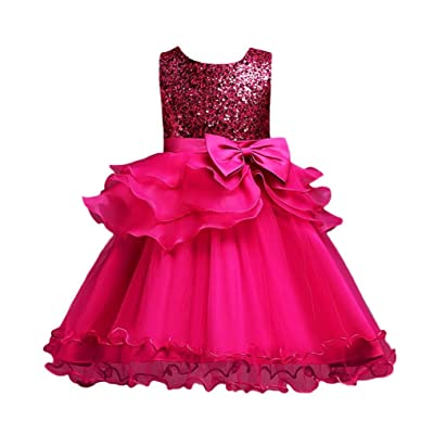 dbf80047b146 Winsummer Baby Flower Girl Bridesmaid Princess Dress Kids Ruffles Lace  Tulle Pageant Gown Wedding Baptism Dresses