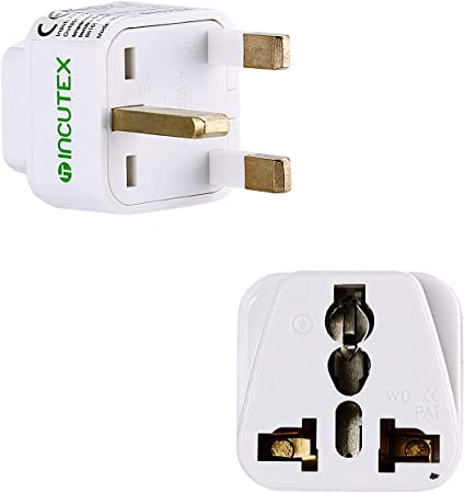 Incutex Travel Plug Uk Gb England Travel Adapter Elektronik