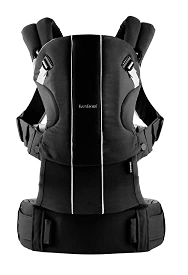 9cdf2b787f8 Image Unavailable. Image not available for. Color  BABYBJORN Baby Carrier  Non-toxic   Organic - Black