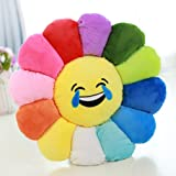 Nunubee Novelty Cute Stuffed Cotton Emoji Flowers