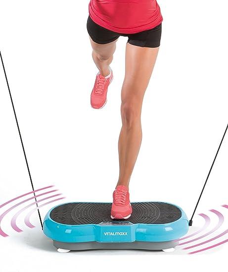 grau Vibrationsplatte Sport Fitness VIB 21 1B-Ware