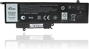 Ursulan GK5KY P20T Battery for Dell 04K8YH 92NCT 092NCT 4K8YH Inspiron 7347 7352 7558 3147 3152 3157 7568 7348 7353 7359 Replacement Laptop Battery - 43Wh 11.1V