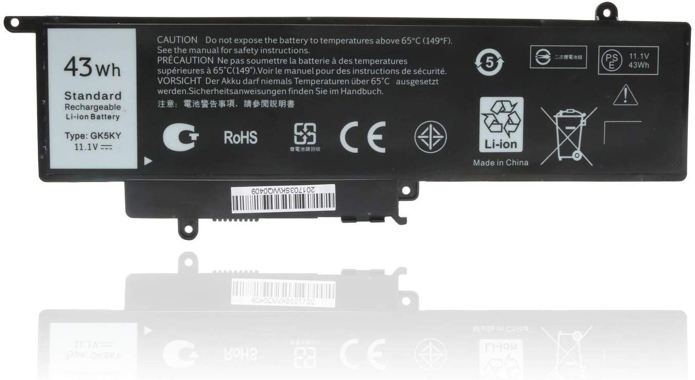 Bateria GK5KY P20T Dell 04K8YH 92NCT 092NCT 4K8YH Inspiron 7