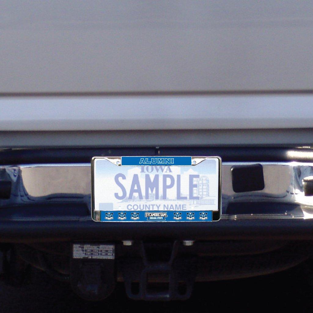 Amazon.com : Indiana State University - License Plate Frame - Alumni ...