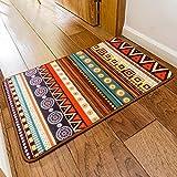 SimpleLife4U Colorful Bohemia Style Welcome Doormat Bathroom Bedroom Kitchen Floor Comfor Mat