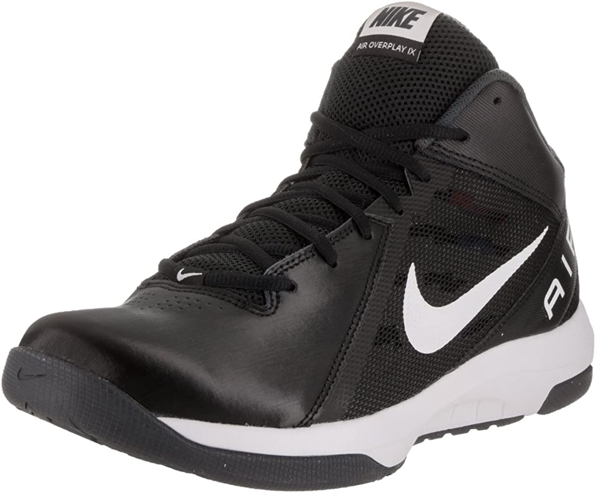 Nike Mens The Air Overplay IX Wide BlackWhiteAnthracite