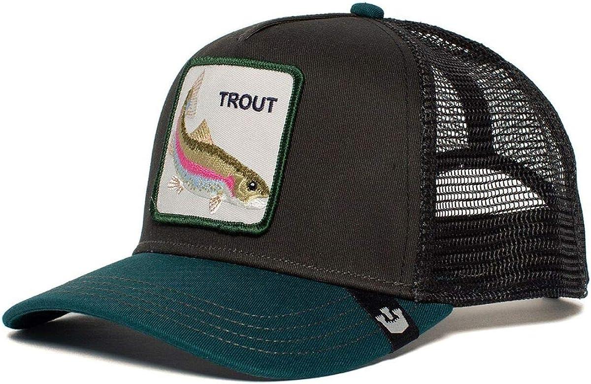 Goorin Bros Trucker Cap Trout/Forelle Black - One-Size: Amazon.es ...