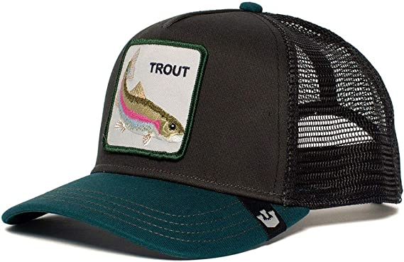 Goorin Bros Trucker Cap Trout/Forelle Black - One-Size: Amazon.es ...