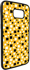 Squares and circles Printed Case forGalaxy S7 Edge