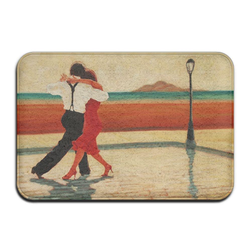 Xcczs Tango Dance Wear-resistant Funny Door Mat Frontfront Outdoor Bathroom Welcome Doormat
