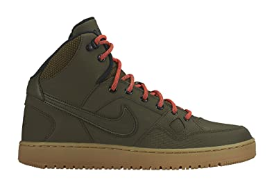 Nike Son of Force Mid Winter Black/Black/Anthracite/Gum Light Brown - Nike Outdoor Boots Luxurious -
