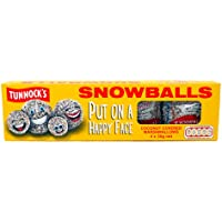 TUNNOCK'S Snowballs - Coconut Covered Marshmallows 4 Pack 120g (4.2 oz) by Tunnock's