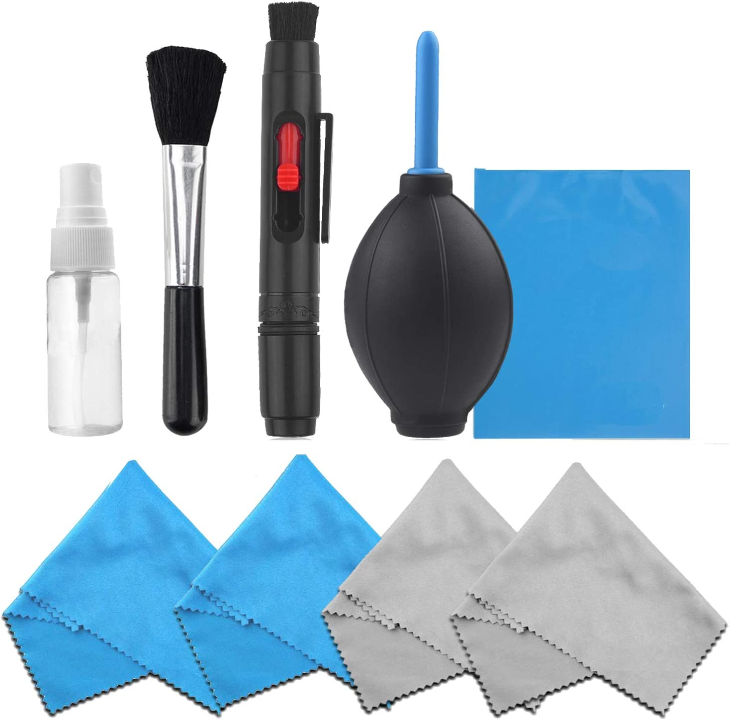 7 in1 Pro Super Optical Cleaning Kit Lens Clean Solution for Canon EOS CameraJ7