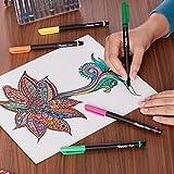 Sharpie 1742664 Pens, Fine Point, Blue, 12-Count