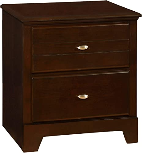 Coaster Home Furnishings Ashton 2-Drawer Nightstand Cappuccino