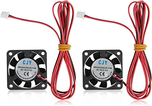 12V 40mm x 10mm Cooling Case Fan 40x40x10mm PC CPU Computer 3D Printer 1m Cable
