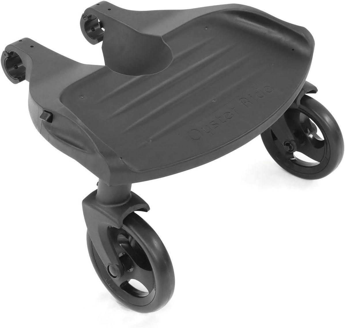 Ride on Board avec selle compatible avec BABYSTYLE OYSTER 3-Noir