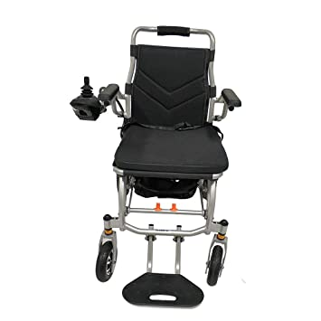 LEWWB Silla de ruedas eléctrica de aluminio plegable Puede subir al avion Ultraligero 18kg: Amazon.es: Hogar