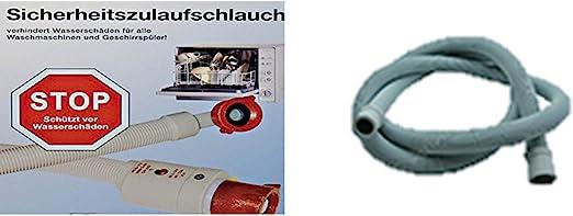 Aquastop/Aquastop tubo/Manguera de seguridad + tubo de desagüe ...