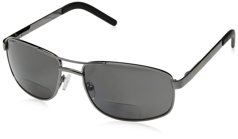 4038e21437 Amazon.com  Coyote Eyewear +1.50 Polarized Bifocal Reader Sunglasses ...