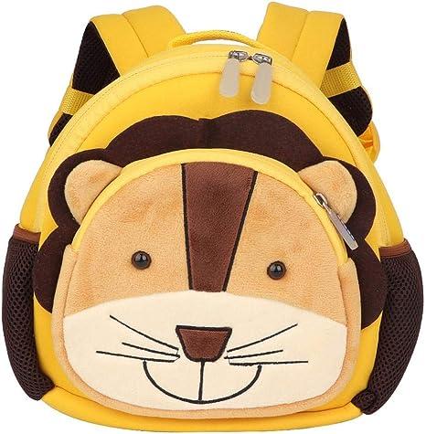 Mochila anti-perdida de la mochila del bebé del león de la mochila ...