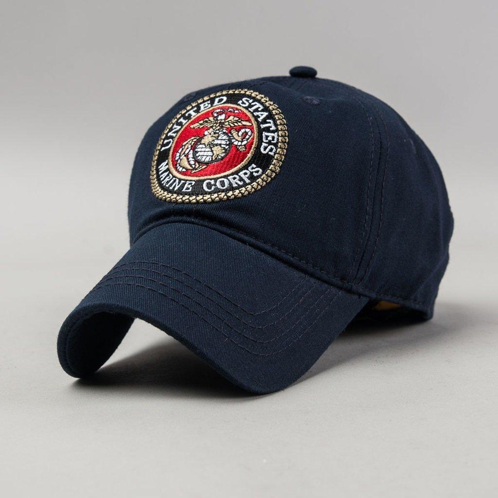 C&S Gorras de béisbol Delgada de Verano de Ocio al Aire Libre de Pesca y equitación Sun Hat Ajustable (Color : Navy Blue) donggan