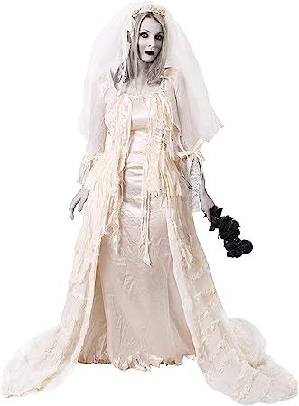 I LOVE FANCY DRESS LTD Disfraz DE Novia Fantasma SEÑORA HAVISHAM ...